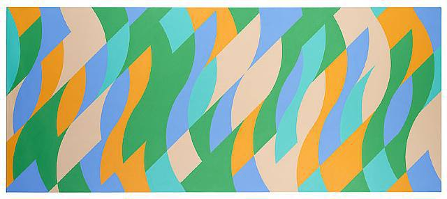 Bridget Riley …Commission!