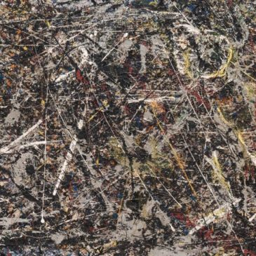 Pollock: Degradation of White Paint