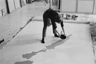 Stain Painting Technique of Helen Frankenthaler