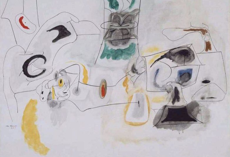 Arshile Gorky at Museum of Fine Arts, Boston