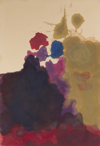 Helen Frankenthaler at the Clark Art Institute